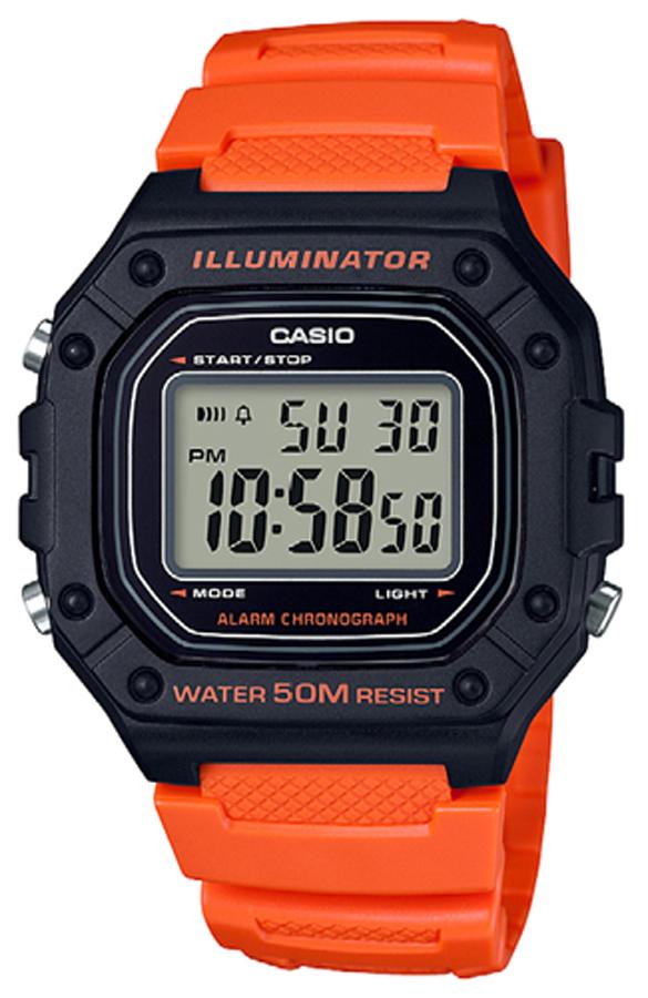Casio W-218H-4B2VEF - zegarek męski