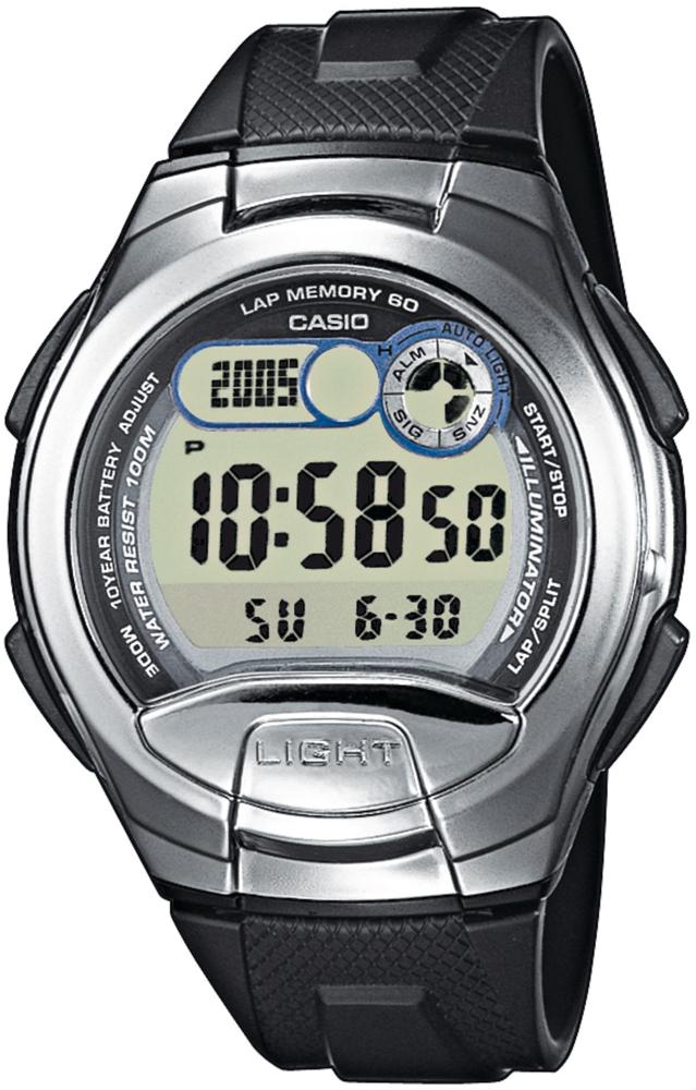 Casio W-752-1AV - zegarek męski