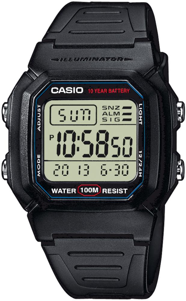Casio W-800H-1AVEF - zegarek męski