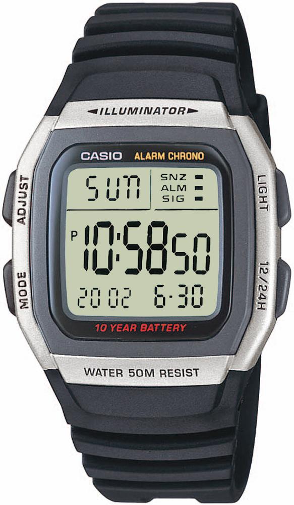 Casio W-96H-1A - zegarek męski