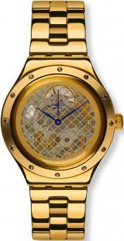 Swatch YAG100G-POWYSTAWOWY - zegarek damski