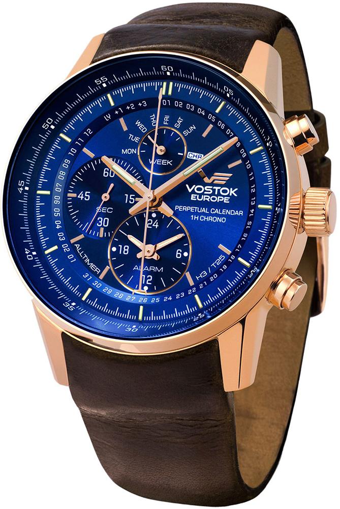 Vostok Europe YM86-565B289 - zegarek męski