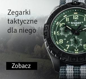 Zegarki taktyczne dla niego