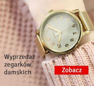 wyprzedaż zegarków damskich