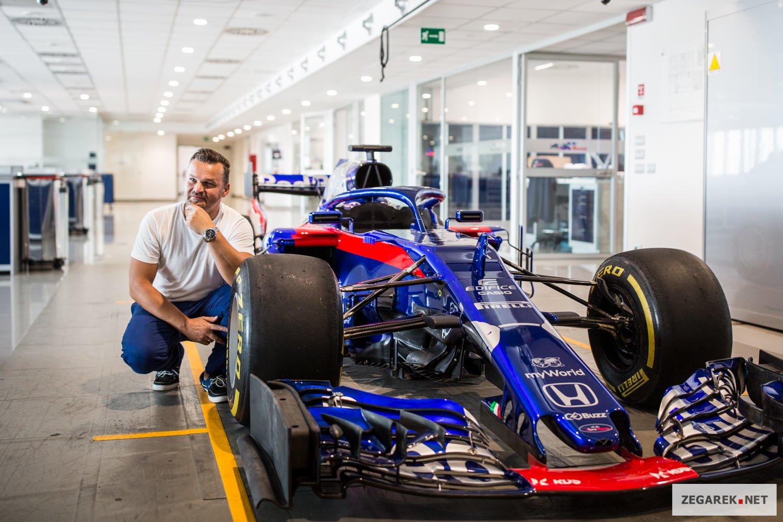 Scuderia Toro Rosso od kilku dobrych lat współpracuje z marką Casio