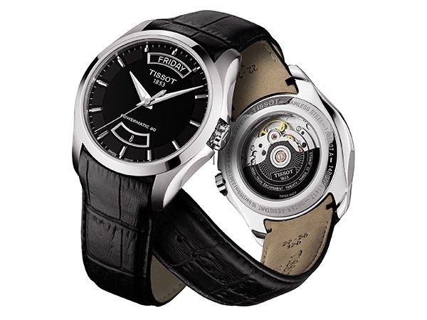 Dynamiczna klasyka w zegarkach Tissot Couturier