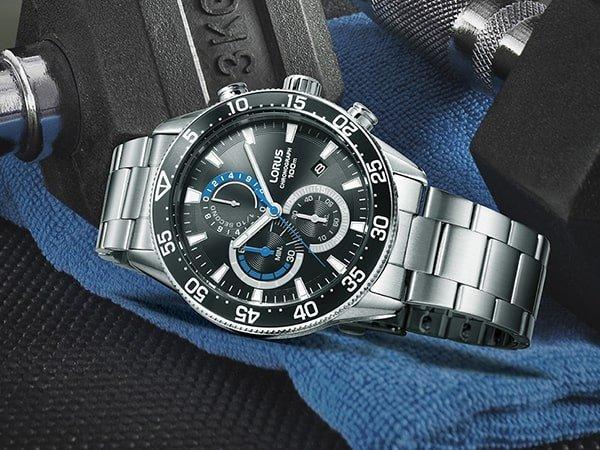 Zegarek Lorus w sportowo-eleganckim wydaniu dla niego.