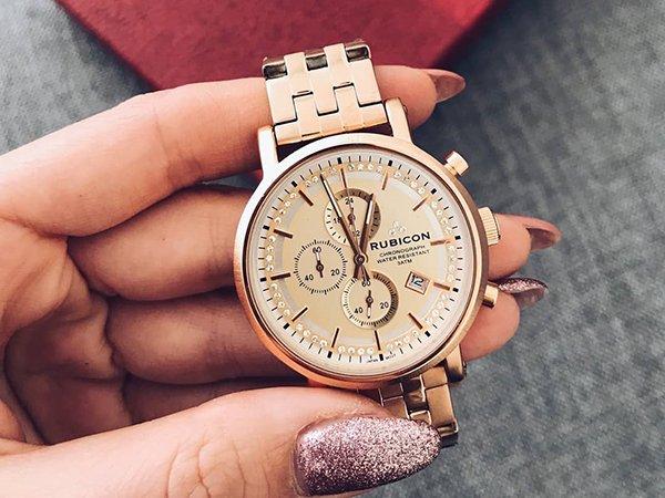 Zegarki Rubicon na bransolecie klasycznej