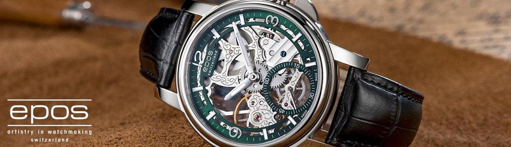 Niezwykle, szwajcarskie zegarki Epos Oeuvre D'art