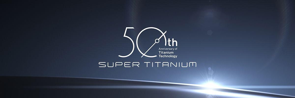 50-lecie autorskiej technologii Super Titanium marki Citizen