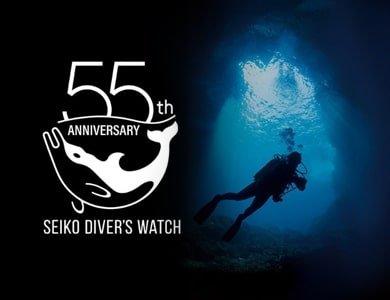 Seiko Diver's świętuje 55 urodziny!