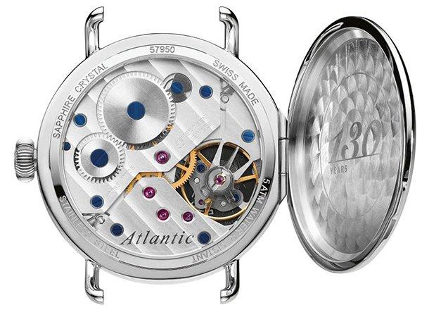 Mechanizm mechanicznego zegarka Atlantic