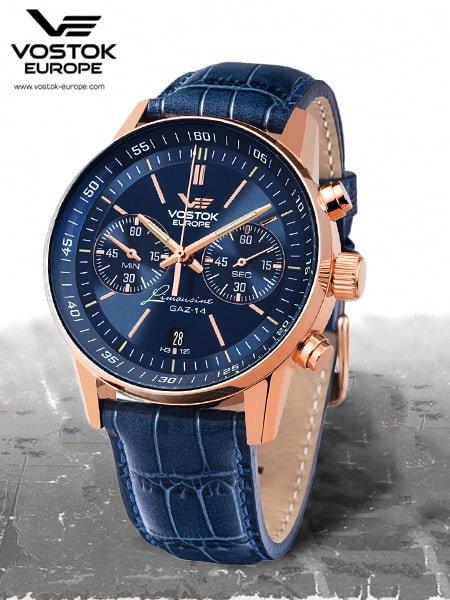 Eleganckie męskie chronografy w kolekcji VE Limousine