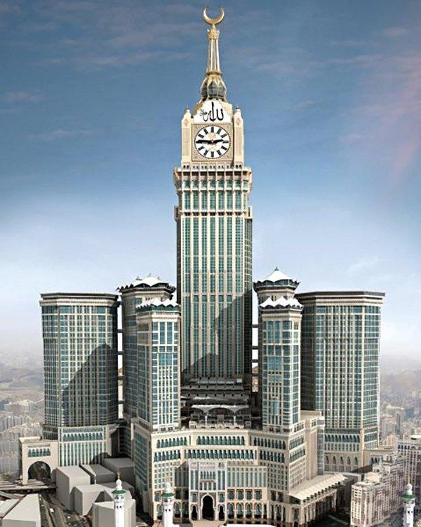 Największy zegar świata w Arabii Saudyjskiej