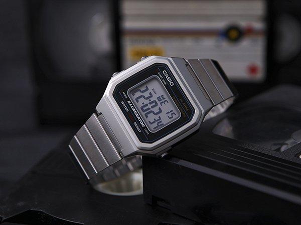 Casio męskie zegarki - retro