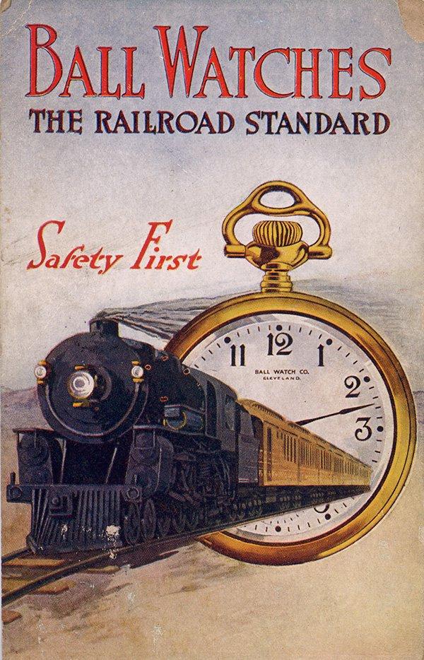 Kolejowe zegarki Ball