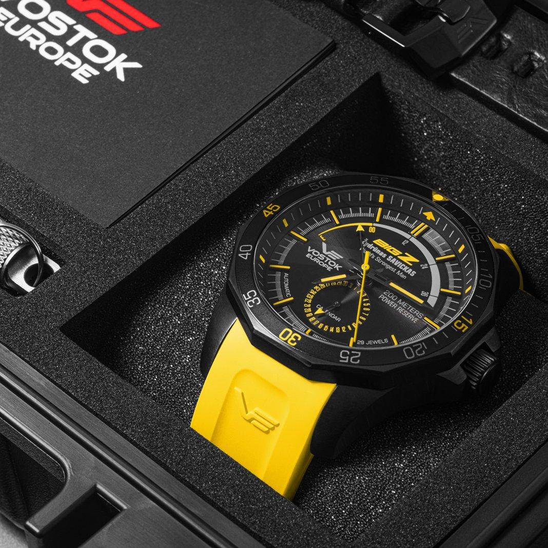 zegarek VE Big-Z zydrunas savickas czarna tarcza