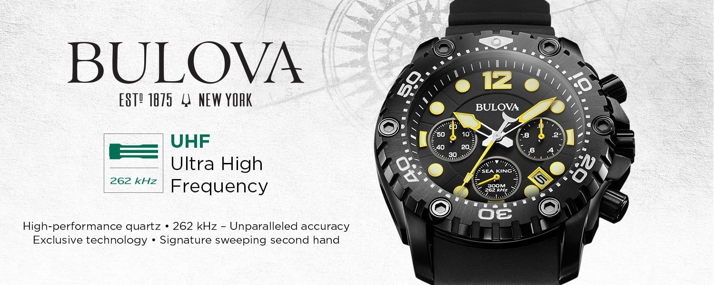 Nowy mechanizm marki Bulova UHF czyli Ultra High Frequency.