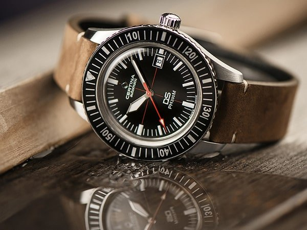 Niezwykły zegarek Certina z mechanizmem automatycznym.