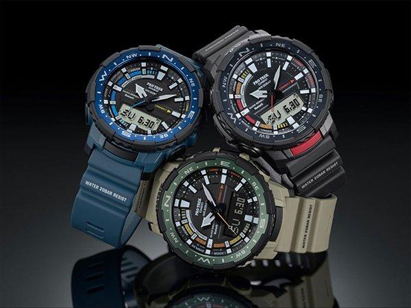 Zegarek Casio ProTrek PRT-B70 – przydatny nie tylko na rybach!