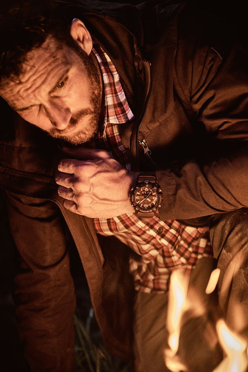 Zegarek G-Shock posiada równiez takie funkcje jak 24-godzinny stoper.