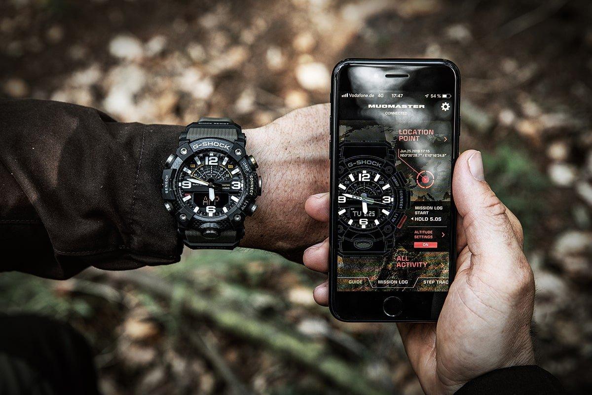 Aplikacja umożliwiająca synchronizację zegarka z aplikacją poprzez bluetooth.