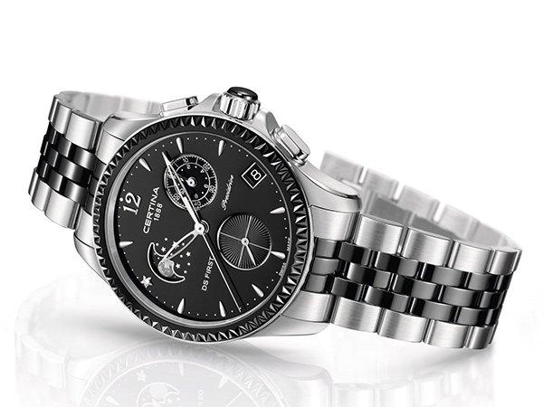Zegarki Certina DS First — nowoczesne technologie
