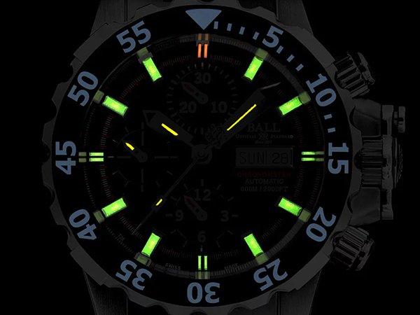 Łatwa czytelność w zegarkach dziędzi niezawodnym metodom podświetlania.