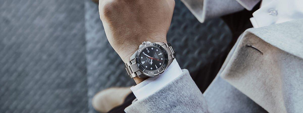 Elegancki zegarek Certina na bransolecie dla niego