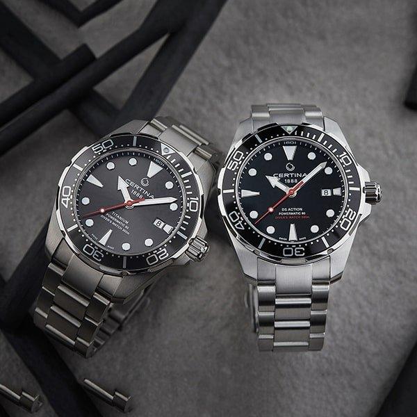 Szwajcarskie rzemiosło zegarków Certina