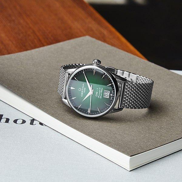 Szwajcarskie dziedzictwo zegarków Certina