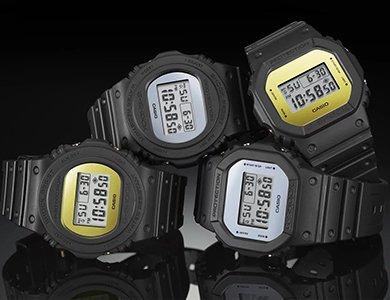 Podświetlenia w zegarkach G-SHOCK