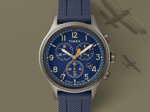 Dynamiczna stylistyka w zegarkach Timex Allied