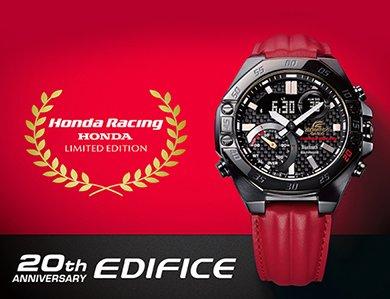Prosto z wyścigowego toru - nowe modele zegarków Casio Edifice!