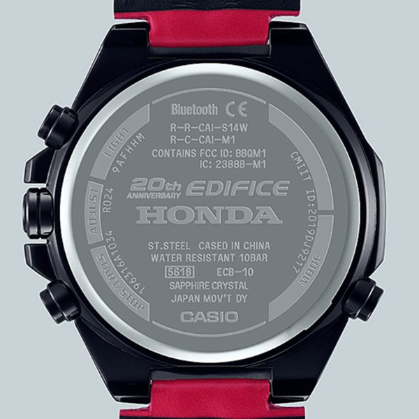 Zegarek Honda Racing Limited Edition ECB-10HR-1AER na 20-lecie powstania Edifice