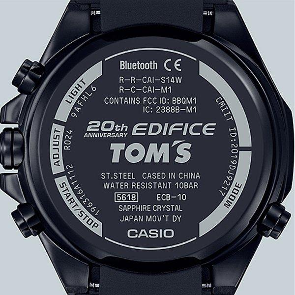 Zegarek TOM'S Limited Edition ECB-10TMS-1AER - dedykowany japońskiemu zespołowi motorsportu