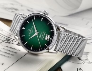 Edycja specjalna Certina DS-1 Big Date 60th Anniversary