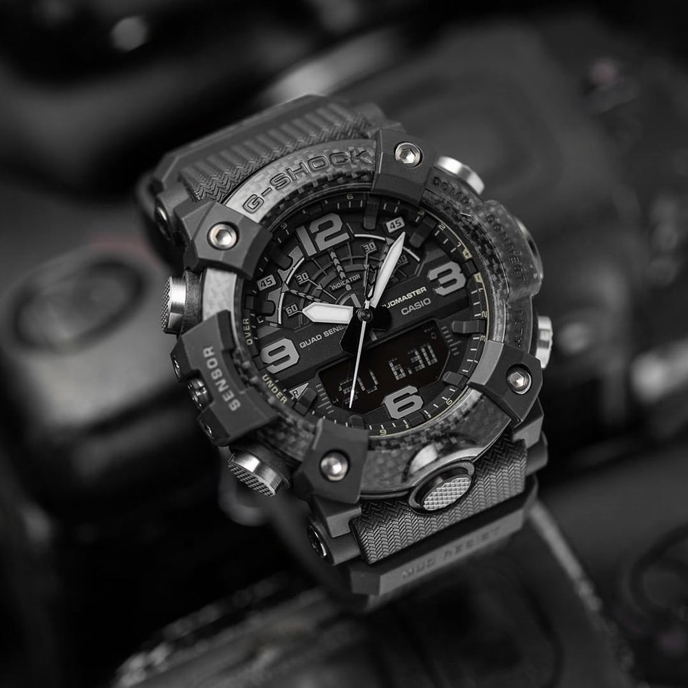 G-SHOCK GG-B100-1BER Mudmaster Carbon Core Black Out