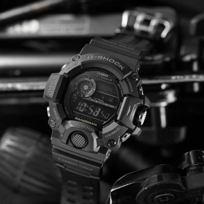 G-SHOCK GW-9400-1BER RANGEMAN Black Out