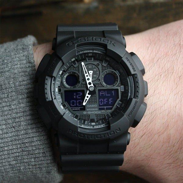 Czarny, stylowy zegarek G-Shock Original