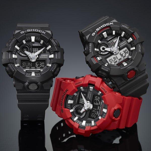 Sportowe zegarki G-Shock dla każdego