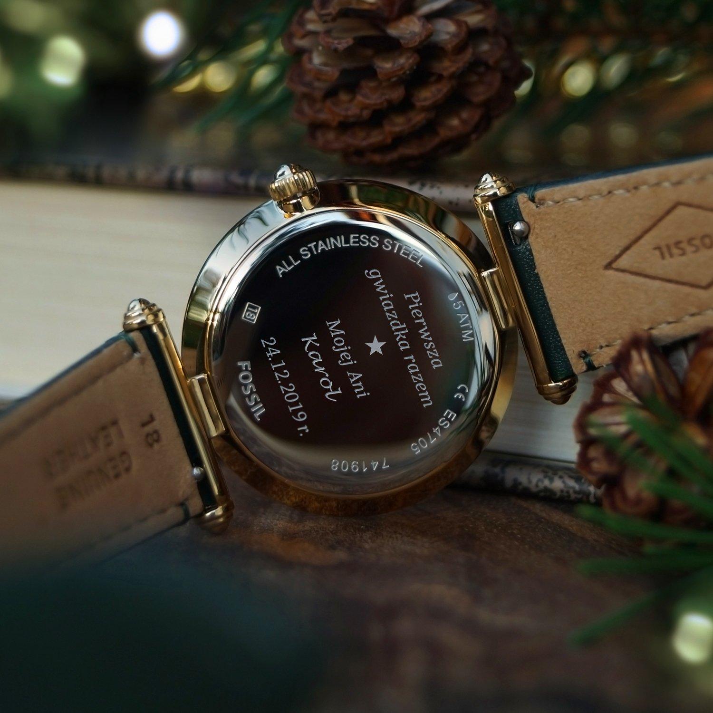 Wyjątkowy grawer na zegarku dla wyjątkowej osoby