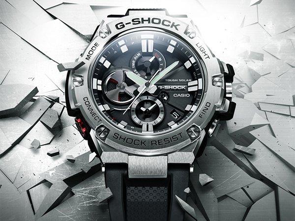 Męski wygląd zegarków G-Steel