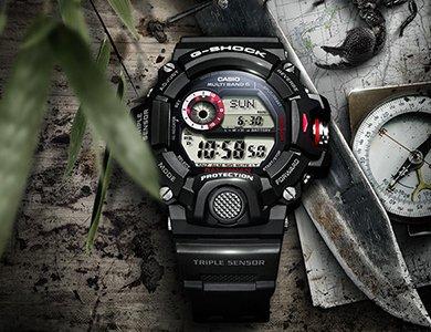Dlaczego warto wybrać G-SHOCK Rangeman GW-9400 Triple Sensor