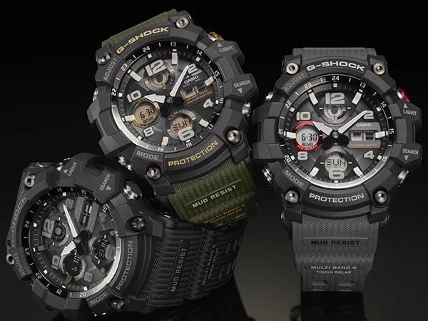 Rodzaje zegarków G-SHOCK Master of G