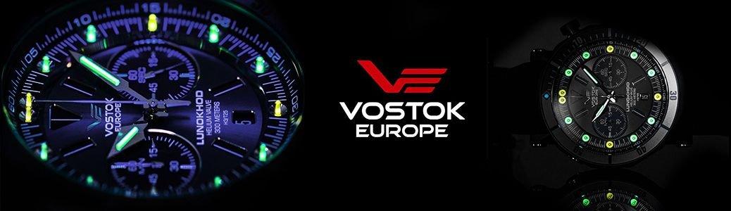 Zegarek Vostok Europe Lunokhod podświetlenie