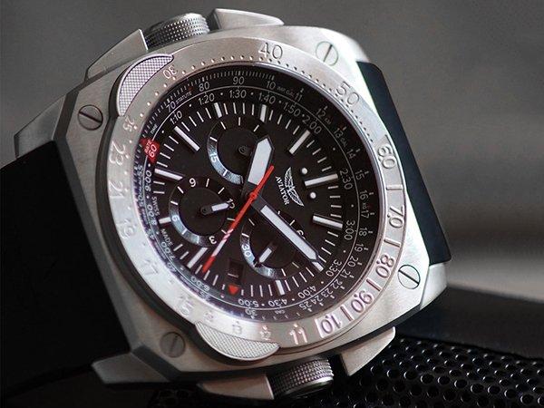 Taktyczny zegarek Aviator inspirowany lotnictwem