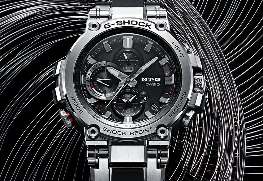 Zegarek G-Shock MT-G od Casio.