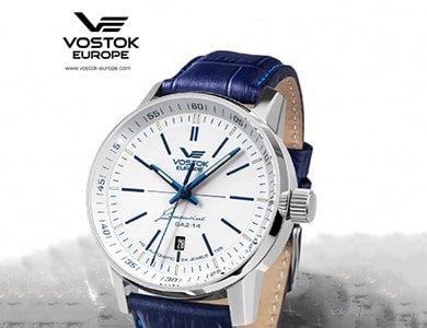 Odświeżona kolekcja niezawodnych zegarków Vostok Europe Limousine