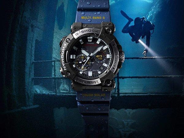 Głębokościomierz w zegarkach dla nurków